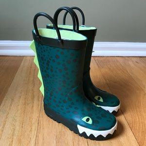 NWT Carter's Alligator Rain Boots